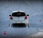 stage conduite glace clio rs circuit glace